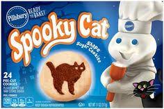 pillsbury halloween sugar cookies. Pillsbury Ready To Bake Spooky Cat Shape Sugar Cookies Hy Halloween