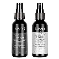 amazon nyx professional makeup make up setting spray dewy finish 2 03 fl oz foundation makeup beauty