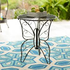 unique outdoor furniture. phase three build walls kirklandu0027s outdoor living collection includes unique furniture pieces like this metal butterfly table