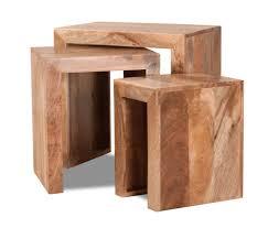 dakota light mango trio table nest 1