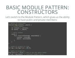 Module Pattern