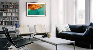 the frame matches your space as well as your style an elegant complement to your home when it s on it s an amazing television and when it s off