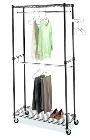 most inspiring closet hanging closet rods closet hanging rod height home design double hang closet
