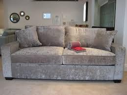 Sherwood Bedroom Furniture Sherwood Sofa In J Brown Crushed Velvet This British Made Sofa