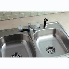 acrylic kitchen sinks stainless steel topmount double bowl double faucet kitchen sink