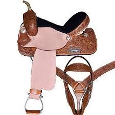 Barrel Saddle Size Chart Amazon Com Raj International Youth Child Premium Leather