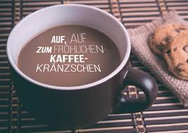 Auf Auf Zum Kaffeekränzchen Einladung Echte Postkarten Online