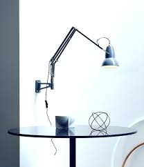 the painted hive a desk lamp becomes wall light with regard to wall mounted desk lamp desk wall mounted desk lamp wall mounted desk lamp led wall pertaining