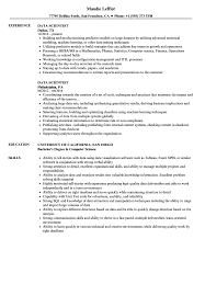 Data Scientist Resume Sample Pin On Template And Format