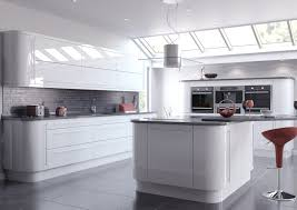 Red Gloss Kitchen Cabinets High Gloss Kitchen Doors Made To Measure By Contractors
