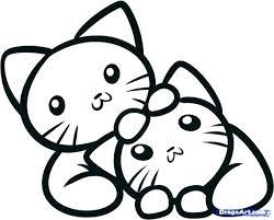 Kitty Coloring Page Gyerekpalotainfo