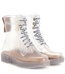 Pvc Ankle Boots