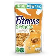 nestle fitness granola whole grain oats honey 300g