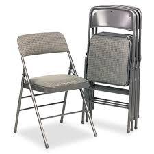 folding chairs uk. Modren Chairs Bridgeport Samsonite 36885CVG4 Deluxe Fabric Padded Seat U0026 Back Folding  Chairs Cavallaro Dark Gray 4Carton Amazoncouk Kitchen Home And Chairs Uk