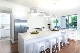 dining room drum pendant lighting modern white kitchen with silver drum pendant lights entry hall decor