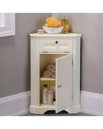 bathroom corner storage cabinets. Improvements Weatherby Bathroom Corner Storage Cabinet - Cream Cabinets V