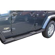 jeep wrangler 4 door running board side steps