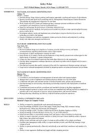 Database Administration Resume Samples Velvet Jobs