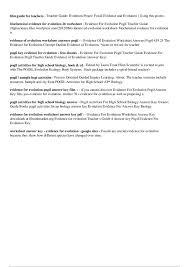 Free Biology Worksheets for Teachers | Homeshealth.info