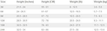 Oshkosh Infant Shoe Size Chart Best Picture Of Chart