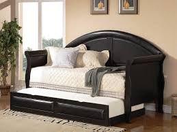 image of daybed bedding black and white