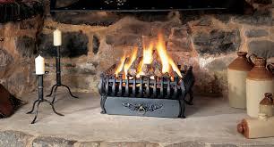 small spanish in matt black cast iron with 4 x matt black cast iron legs and ashpan cover