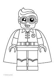 Lego Batman Villain Coloring Pages Bltidm