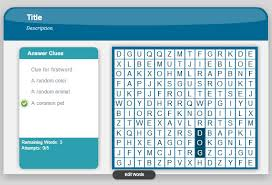 Word Search Game In Powerpoint Using Adobe Presenter 8