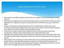 essay life after death in islam  essay life after death in islam