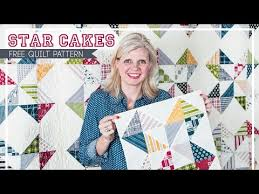 Star Cakes: Free Quilt Pattern with Fat Quarter Shop - Fat Quarter ... & Star Cakes: Free Quilt Pattern with Fat Quarter Shop - Fat Quarter Shop's  Jolly Jabber Adamdwight.com