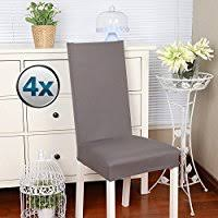 chair covers for home. Chair Covers Stretch Cover Slipcovers 4PCS Elastic Modern Protector With Band / Washable For Home