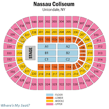 New Coliseum Uniondale Seating Chart Nycb Live Coliseum Seating Chart Best Picture Of Chart
