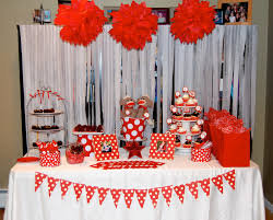 Chic how to decorate a party table image of: birthday table decoration ideas