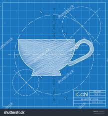 architectural design blueprint. Architecture Large-size Blueprint Background Stock Vectors Vector Clip Art Shutterstock Cup For Tea Or Architectural Design