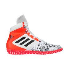 adidas wrestling shoes. adidas impact white black orange wrestling shoes