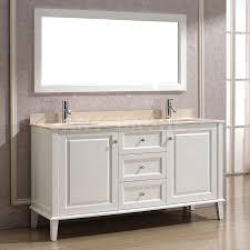 vanity art bathe lily 63 white double bathroom sink