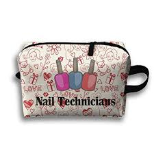 mrshelp nail technician 3d print travel bag storage toiletry bag fashion handbag