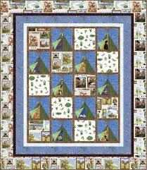 the great outdoors free quilt pattern by hoffman fabrics