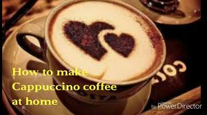 How To Make A Design On Coffee How To Make Cappuccino Coffee At Home Cappuccino Coffee Without Coffee Machine Coffee Heart Design