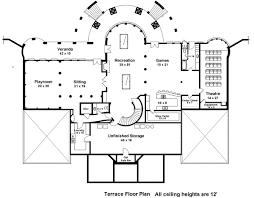Majestic Double Staircase - 12225JL floor plan - Basement