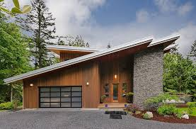 Contemporary Cabins Modern Cottage House Design Modern Cottage House Design At The