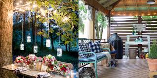 How To Hang String Lights On Patio 25 Backyard Lighting Ideas How To Hang Outdoor String Lights