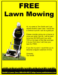 lawncare ad free lawn care flyer templates gopherhaul landscaping lawn