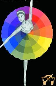 Dancing on the color wheel!