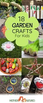 garden crafts. 18 GORGEOUS Garden Crafts For Kids