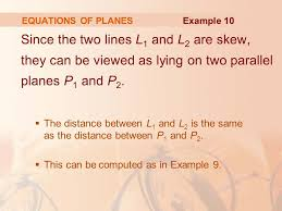 parallel planes equations. 28 equations parallel planes equations