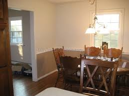 paint colors for dining room with chair rail best