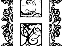 37 Illuminated Letters Coloring Pages Free Coloring Pages Of