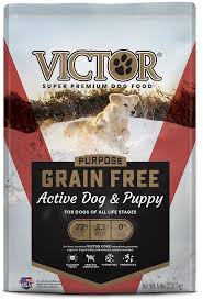 Dry Puppy Food Comparison Chart Victor Active Dog Puppy Formula Grain Free Dry Dog Food 5 Lb Bag