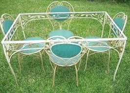Salterini Wrought Iron Patio Furniture Goair Club With Regard To